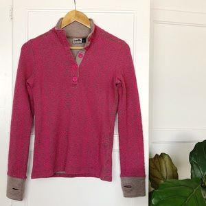 Kavu Lopez Floral Textured Pullover Sweater S
